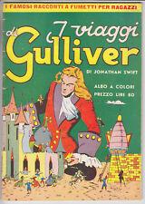 SUPER COMICS MENSILI n. 7 I Viaggi di Gulliver  - ed. Nerbini 1950 ottimo/edicol
