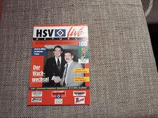 Programm Hamburger SV - Eintracht Frankfurt 93/94