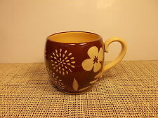 """David Tutera Dinnerware Exotic Pattern Mug 3 3/4""""  China New"""
