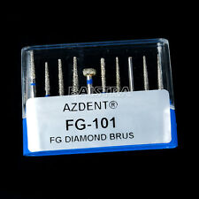Dental Diamond Burs Kit For Crown and Bridge Preparation Anterior Teeth FG-101