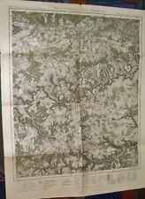 Wanderkarte von Württemberg - Blatt 8 Göppingen Urach Blaubeuren 1:100.000, 1934