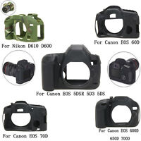 Camera Silicone Protector Case Bag for Canon EOS 5DSR 5D3 5DS 600D 650D 700D 70D