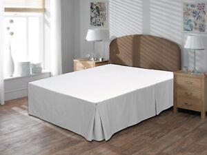 Luxurious Quality 800TC 100% Organic Cotton 1pc Bedskirt 16 Inch Drop Length