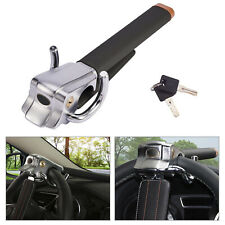Universal Car Steering Wheel Lock Top Mount Anti Theft Locking Devices + 2 Keys