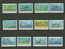 BIOT SG155-166 SHARKS MNH