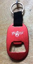 Budweiser Kevin Harvick #4 Nascar Bottle Opener Key Chain Aluminum ~ (2) NEW F/S