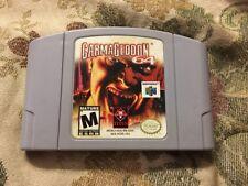 Carmageddon 64 (Nintendo 64, 2000) Authentic Tested Works!!