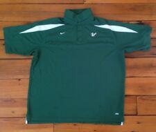 University South Florida Bulls USF Green Nike Dri Fit Dry Golf Shirt 3XL XXXL