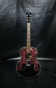 1988 RARE Everly Brothers Epiphone by Gibson SQ-180 Mini Jumbo Acoustic Guitar
