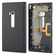 Back Cover Door Metal Plate For Nokia Lumia 900 Black Original Part