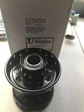 Black Replica Wheel Hub Star Type Harley EL, UL, WL 3958-36 (1031)