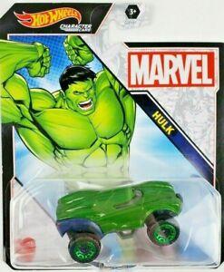 Hot Wheels Hulk Character Car Marvel Comic Version New Release