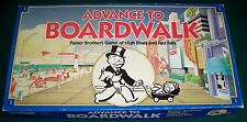 1985 Parker Bros ADVANCE TO BOARDWALK Game of High Rises & Fast Falls - Complete