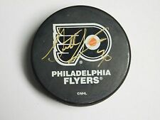 NHL Garth Snow Signed Philadelphia Flyers Puck w/ COA
