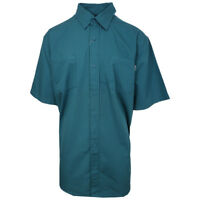 Carhartt Men's Aqua Blue S/S Woven Shirt XL-3XL (Retail $40)