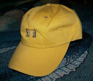 NEW IMPERIAL NGLA THE NATIONAL GOLF LINKS OF AMERICA Members Logo Cap Hat Yellow