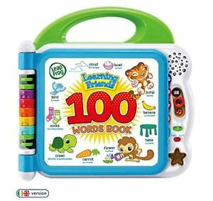 Learning Friends 100 Words Baby Book Educational and Interactive Bilingual