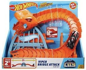 Hot Wheels City Viper Bridge Attack Play-set 4-8 YEARS Brand New In Box