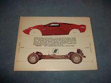 1969 Fiberfab Avenger GT-12 Fiberglass Kit Car Vintage Ad