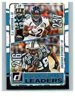 2016 Donruss League Leaders #20 C.J. Anderson/Jonathan Stewart