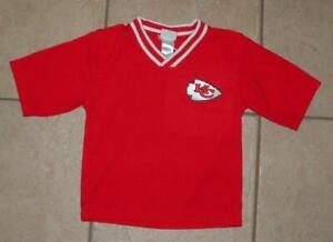 Boys 4T/ 4 Toddler Red NFL Football's KANSAS CITY CHIEFS Shirt Sleeve Shirt