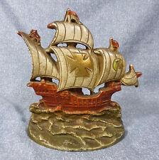 Antique Creations Co. Spanish Galleon Cast Iron Door Stop