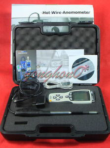Temperature Tester Hot Wire Thermo-Anemometer DT-8880 Air Flow Velocity Meter