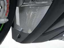 R&G TITANIUM RADIATOR GUARD & DOWNPIPE GRILLE for Kawasaki ZX10-R (2011-2019)
