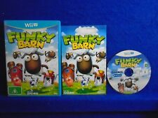 wii U FUNKY BARN Farming But Not As You Know It! Simulation Nintendo PAL AUS