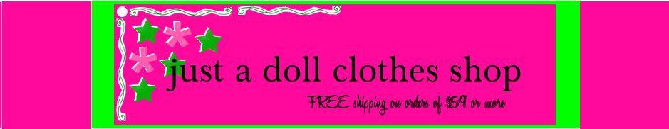 just a doll clothes shop