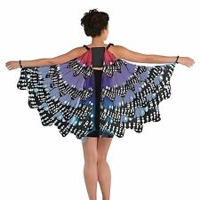 Adult Ladies Monarch Butterfly Wings Fairy Fairytale Cape Festival Fancy Dress