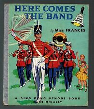 1956 Ding Dong School Book by Miss Frances - Here Comes The Band  # 224 -1st? VG