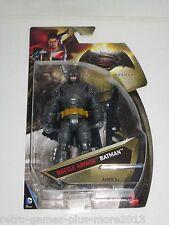 Batman v Superman Dawn of Justice: Battle Armor Batman (Mattel, 2015) Brand New