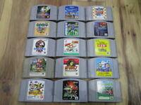 Nintendo 64 Lot of 15 piece Star Fox Star Wars N64 Japan w385