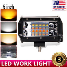 """5""""INCH 288W LED Light Bar Spot Flood Combo Work SUV Boat Driving Offroad ATV 4WD"""