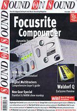 FOCUSRITE COMPOUNDER / GEORGE DUKESound on SoundMay1999
