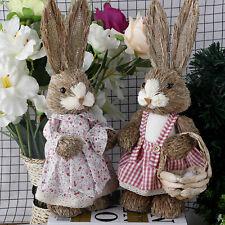 Creative PAGLIA simulazione Bunny Coniglio Giocattolo Animale HOME DECOR Accessori per feste