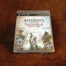 Assassin's Creed: The Americas Collection PS3; Brand New Sealed [PlayStation 3]