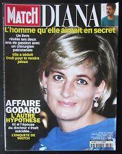 PARIS MATCH 2000  LADY DIANA  AFFAIRE GODARD PEINTRE DELACROIX PAMELA ANDERSON