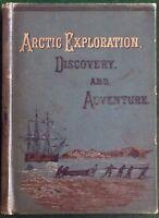 ADVENTURES IN THE ICE: ARTIC EXPLORATION, JOHN TILLOTSON, JOHN HOGG, 1869