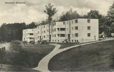 A View Of An Apartment Building In Greenbelt, Maryland MD 1941