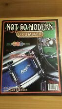 Not So Modern Drummer Magazine Spring/Summer 2001 - Snare Drum Olympics