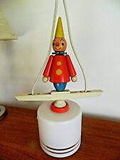 Stunning Vintage Retro French Clown Childs Ceiling Hanging Light
