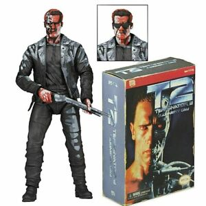 """Terminator 2 Judgement Day T-800 Video Game Appearance 7"""" Action Figure"""