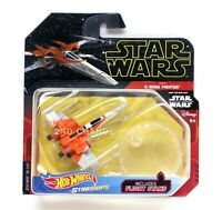New 2019 Hot Wheels Starships Star Wars Poe's X-Wing Fighter w/ Flight Stand