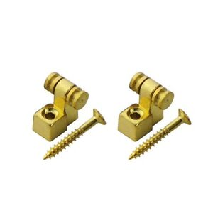 OZ New 2pcs Roller String Retainers Tree Guide Tele, Strat Electric Guitar Parts