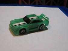 1978 Ideal TCR slot car GREEN/ BLACK BMW