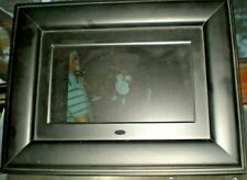 "Curtis DPB702A 7"" Digital Picture Frame Tested works Great"