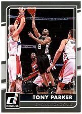 Tony Parker - Spurs #85 Donruss NBA 2015-16 Basketball Panini Trade Card (C1569)