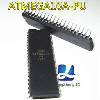 10PCS ATMEGA16A-PU ATMEGA16A MCU DIP-40 ATMEAL NEW